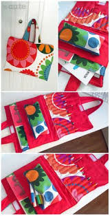 Crayon And Coloring Book Carrier
