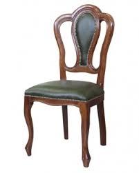 lederstuhl klassischer stil echt leder stuhl aus holz im stil für esszimmer wohnzimmer