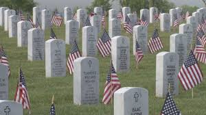Memorial Day Graveside Decorations by Veterans U0027 Graves Decorated For Memorial Day Wbir Com