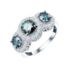 Blue Diamond Rings Sapphire Engagement Kay Jewelers