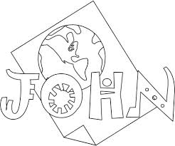 Bible Coloring Pages For Kids Free Printable Books Of The John