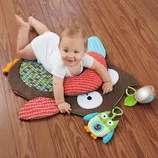 Cute Owl Car Floor Mats by Amazon Com Skip Hop Hug And Hide Tummytime Playmat Owl Baby