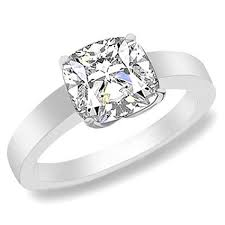 Cushion Cut Vintage Style Engagement Rings 3