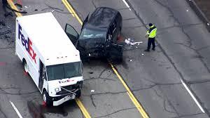 100 Fedex Truck Accident Westland Woman Killed 3 Hurt In Headon Collision Involving