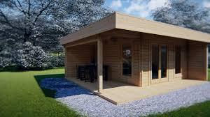 100 Modern Summer House Hansa Lounge XL With Veranda 145m