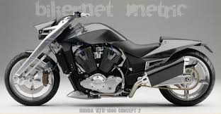 the way back machine to six years ago the honda vtx 1800 concept
