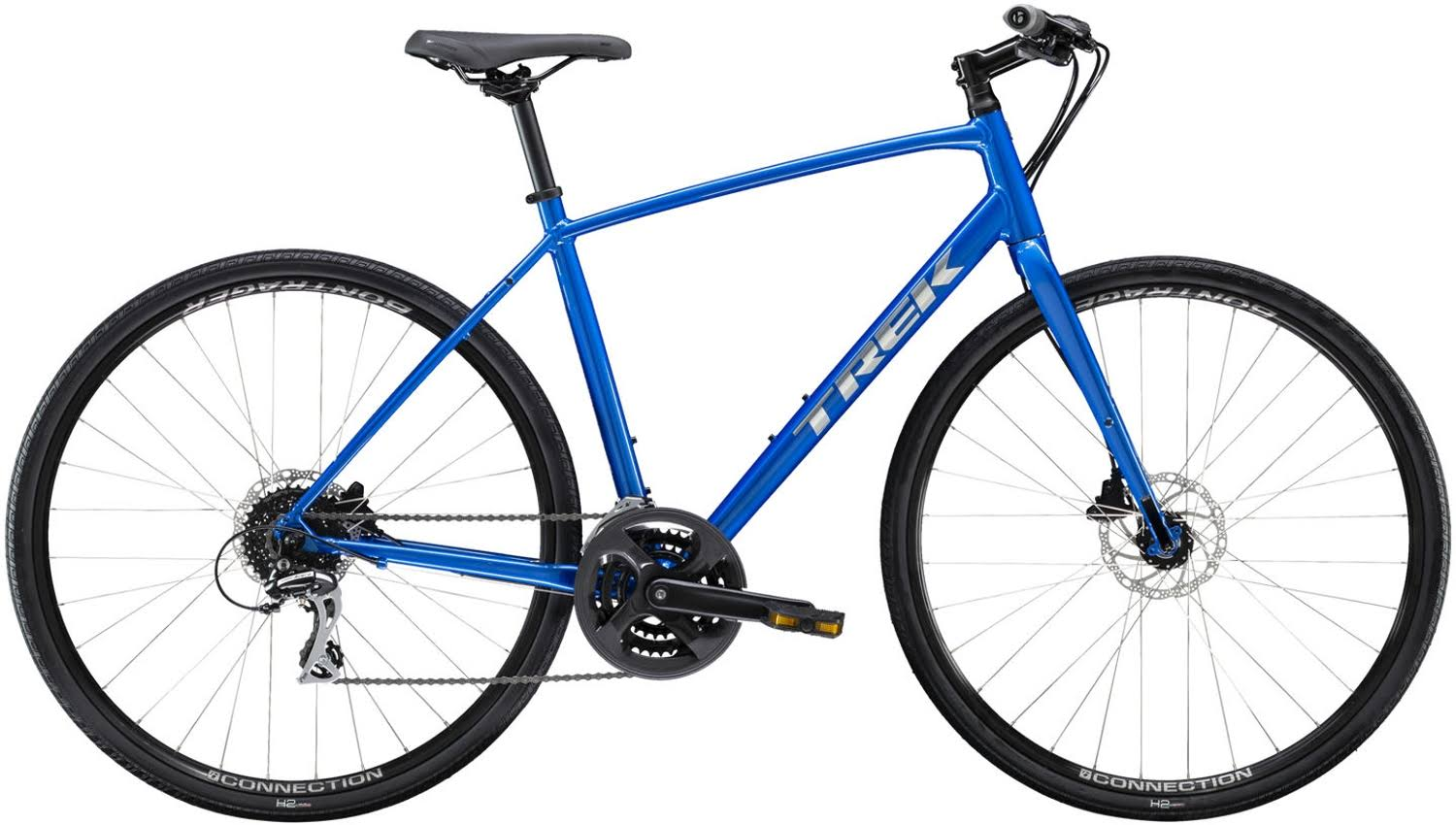 Trek FX 2 Disc 2020 Mens Hybrid Bike Alpine Blue