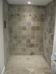 how to tile a shower floor large size of pebble shower tile