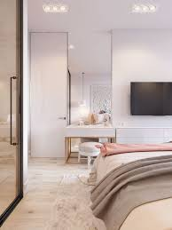 Pink White Is Another Concept Design Small Apartment In Kiev Interior BedroomConcept