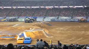 100 Monster Trucks Atlanta Jam Highlights GA 2017 YouTube
