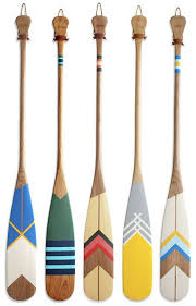 decorative oars and paddles 126 best painted paddles images on canoe paddles
