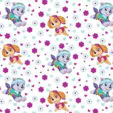 Curtain Fabric By The Yard by Paw Patrol Pup Power Licensed 44
