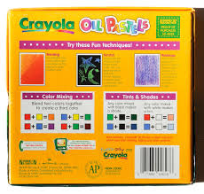 Crayola Bathtub Crayons Stain by 28 Count Crayola Oil Pastels What U0027s Inside The Box Jenny U0027s