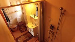 badezimmer ferienhaus am see in schweden mit