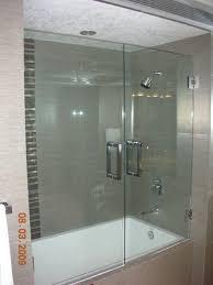 impressive bathtub shower glass doors bathtub doors bathtubs the