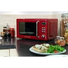 Retro Microwave Daewoo Black Mint Green Red Walmart