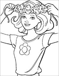 69 Barbie Printable Coloring Pages For Kids Find On Book Thousands Of