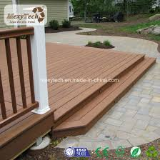 Balcony Waterproof Outdoor WPC Decking Flooring