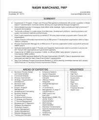 Sample Resume Of Project Manager Old Version Oil And Gas