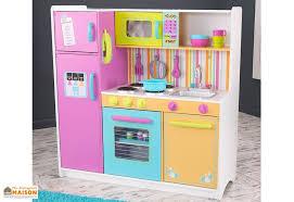 cuisine bois kidkraft cuisine en bois pour enfants colorée 1 10 m kidkraft
