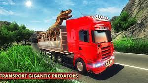 100 Dinosaur Monster Truck Angry Transport Tycoon Deluxe 3D Wild Animal Transporter