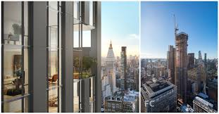 100 Nomad Architecture Rafael Violy Architects NoMad Residential Tower 277 Fifth Tops Out