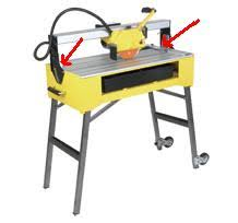 Mk270 Tile Saw Manual by Problem Getting Tile Saw To Cut Straight See Pic Ceramic Tile