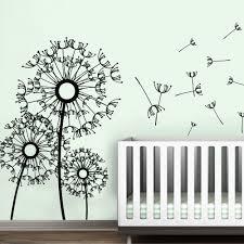 Wall Mural Decals Flowers by Aliexpress Com Buy Dandelion Wall Decal Flower Kids Boy