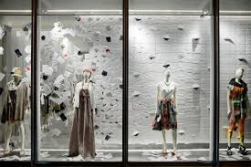 This Work Is A Window Design For Fashion Shop
