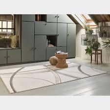 wecon home kurzflorteppich cloud seven pastellapricot rechteckig abstraktes design kunstfaser