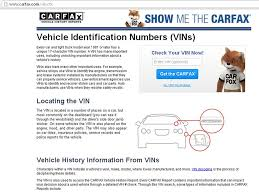 100 Truck Vin Lookup How To Check Whether Your Vehicle Has An Unfixed Safety Recall