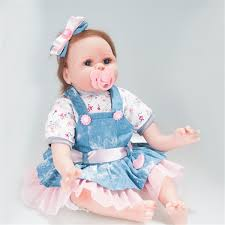18inch Reborn Baby Dolls Newborn Realistic Soft Silicon For Sale