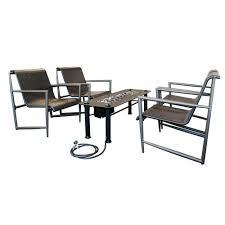 Patio Furniture Conversation Sets Home Depot by Bond Manufacturing Trapani 5 Piece Patio Conversation Set 65798