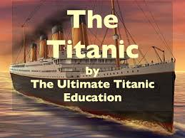Ship Simulator Titanic Sinking 1912 by The Sinking Of The Titanic April Smith U0027s Technology Class