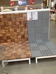 ikea deck tiles patio pick me up pinterest decking patios