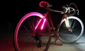 Led by Lite s Bike Strap Lighting Uses 42 LEDs Video