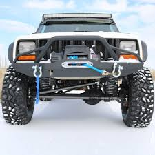 Jeep JK XJ YJ TJ Front & Rear Bumpers | Best Winch Bumper Combos ...