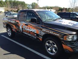 Bulldog Roofing & Construction: Pickup Truck Wrap   Tier 1 Graphics Bulldog Truck Sales 5055 Hammond Industrial Dr Cumming Ga 30041 Used 2009 Intertional Prostar Sleeper For Sale In 2371 Posts Facebook Mack Trucks Wikipedia New 2018 Mack Mru613 Cab Chassis For Sale 515003 Used 2010 Ford F150 Platinum 4wd Puyallup Wa Near Graham Diesel Vehicles In Car And Kme 103 Tuff Fire To Northbridge Fd Truckpapercom 2013 Freightliner Scadia 113 For 2012 Xlt