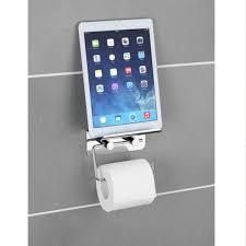 support a papier de toilette distributeur papier toilette support téléphone