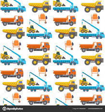 Construction Delivery Truck Vector Transportation Vehicle Construct ...