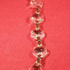 Hanging Crystals For Cylinder Vase Martini Glass Cu