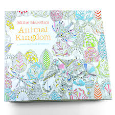 4 Pcs 24 Pages Animal Kingdom English Edition Coloring Book For Children Adult Relieve Stress Kill Time Painting Drawing Books In From Office School