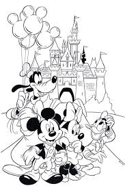 Disney Coloring Page Printable Farvesider Wedding Book Free Cartoons