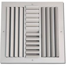 Ceiling Ac Vent Deflectors by Everbilt 10 In X 10 In 4 Way Wall Ceiling Register H104m 10x10