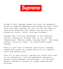 Supreme Clothing T Shirt 12 Years Of Success