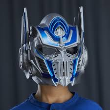 Halloween Voice Changer transformers the last knight optimus prime voice changer helmet