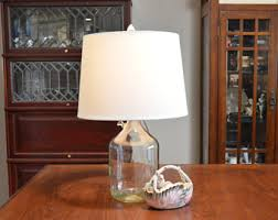 Fillable Craft Table Lamp by Fillable Lamp Etsy