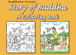 Buddhist Studies Story Of Buddha Colouring Book