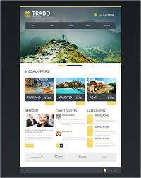 Travel Agency Responsive Website Template 75