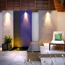 wall downlight wall mounted garden light on feature wall